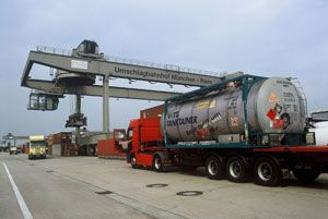 image: Spain freight and logistics TIR air ocean full truck loads