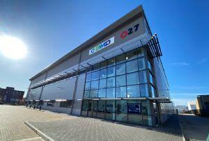 image: UK Damco AP Moller Maersk freight forwarding agency logistics London Heathrow air cargo warehouse SEGRO spacewaye