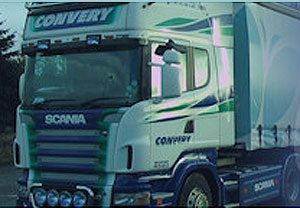 image: Northern Ireland haulage UK freight firm disqualified directors Convery