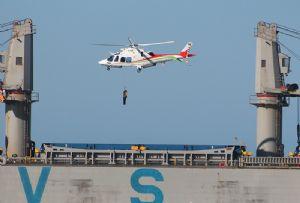 image: South Africa Port Elizabeth Durban Transnet authority AgustaWestland AW 109SP helicopters pilot transfer Leonardo KwaZulu-Natal