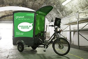 image: UK London electric HGV road haulage freight infrastructure larger windows cargocycle