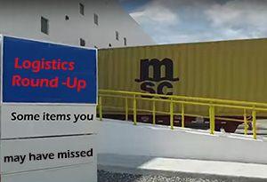 image: DUBAI freight logistics ports shipping round up 3PL RoRo cargo handling US UK UAE Hong Kong