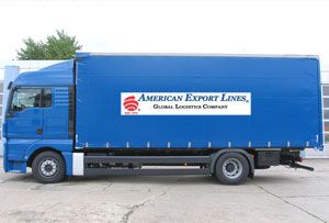 image: American Export Lines AEL independent freight forwarding logistics professionals