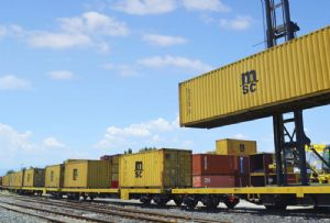 image: UK, MSC, Maritime, transport, intermodal, rail, freight, link, Peel,