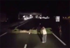 image: France Polish driver killed road haulage freight Calais migrant