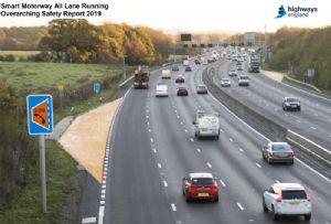 image: UK clean air zone CAZ Smart motorway freight transport road haulage