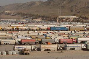 image: Iraq Jordan freight truck seaport GPS cargo management logistics provider Nafith