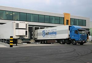 image: Switzerland Swiss Freight Forwarding Belgium Panalpina Adelantex handling cool chain road haulage logistics perishables