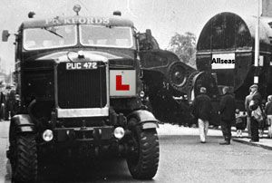 image: UK road haulage supply chain logistics drivers gender gap returnloads LGV HGV
