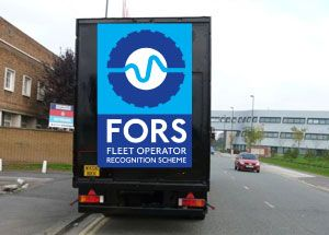 image: FORS Transport for London Fleet Operators Recognition Scheme accreditation