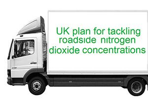 image: DEFRA UK air quality plan diesel petrol commercial vehicles road haulage freight logistics