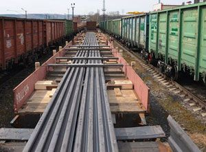 image: RZDL Russian rail logistics project freight forwarding cargo Deutsche Bahn