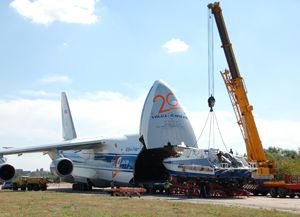 image: Russia project freight forwarding heavy lift air cargo Police customs security Mangust