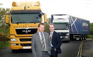image: UK warehousing road haulage rail logistics pallet cargo