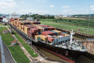 image: Panama Canal Authority open loop scrubber greenhouse gas emissions IMO vessel ship maritime sulphur fuel cap