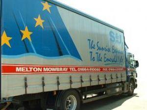 image: Pallet distribution, freight, logistics, Ireland, UK, Colnbrook, Melton Mowbray, Dublin, Haulage,  Robert Dickinson, Irish Global Logistics, S & J European Haulage, Keith Perry International Transport