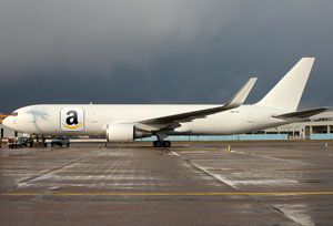 image: US Amazon air freight global shippers forum cargo transport services Wilmington