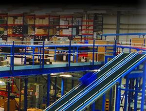 image: UKWA forklift freight and supply chain materials cargo handling