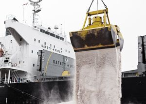 image: Norden bulk freight shipping carbon reduction Handymax Panamax cargo vessel