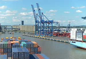 image: UK Port logistics professional multimodal Forth Ports