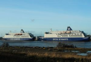 image: Denmark DFDS Italy Moby ferries