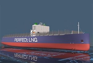 image: DNV GL Oslo shipping container ship cargo vessel environmental LNG green corridor