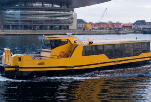 image: Denmark, electric, ferries, Damen, Echandia Marine, fast charge, batteries, CO2, zero emission,