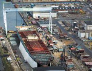 image: Copenhagen, Denmark, container, ship, shipping,line, shipyard