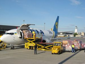 image: Ukraine air freight cargo 2012 European Football Championships