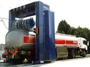 image: UK SNAP road haulage fright logistics haulier commercial driver truck wash