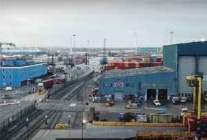 image: HS2, UK, high speed, rail, trucks, logistics, freight, Port of Tilbury, environmentalists,