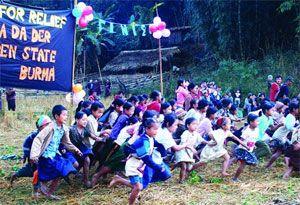 image: Myanmar Thailand freight logistics shipping global free Burma rangers