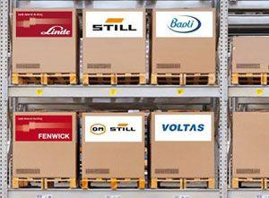 image: Kion Linde fork lift materials handling US South Carolina supply chain