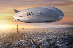 image: France US airship freight trucks handy shipping guide aerospace freighters Lockheed Martin hybrid