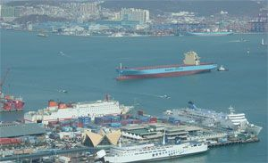 image: India Korea pirates vessel cargo containers goods Hyang Ro ANL Australia Mu San South North Busan Vadakara Pakistan weapons nuclear material munitions UN resolution 1874 Natonal Intelligence Service Coastguard