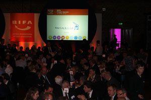 image: BIFA UK freight forwarding shipping awards Derek Redmond Olympics Paralympics Brewery