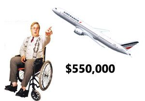 image: US Air France Lufthansa British Airways disability complaints fines Department of Transportation