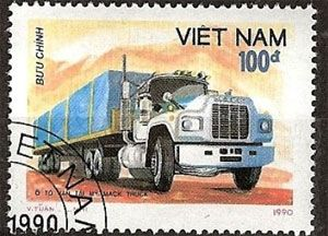 image: Vietnam shipping containers freight boxes trucks