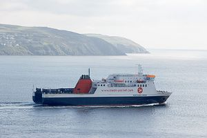 image: Isle of Man, The Steam Packet Company, Steve Brown, Kirsty Hemsley, Freight, trucks, haulage, ferry
