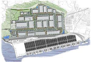 image: Dubai UK ports TEU shipping terminal Nasdaq