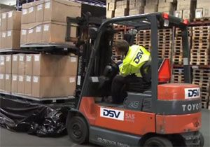 image: Netherlands DSV freight forwarding road haulage supply chain logistics Denmark �s Heerenberg