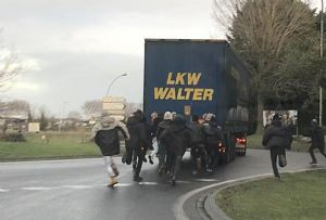 image: UK, RHA, Border, Force, Haulier, road, haulage, freight, logistics, migrants, stowed, away, import, trailers, containers,