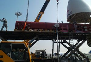 image: Cargolux all cargo airline air freight project forwarding rotor Panalpina