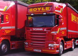 image: RHA UK freight truck Northern Ireland road haulage FairFuel