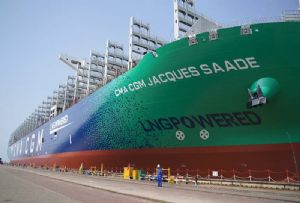 image: France, CMA CGM, Jacques Saad�, TEU, container, ship, vessel, LNG, powered, fuel, CO2,