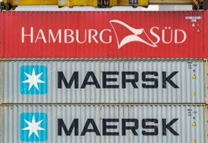 image: Demark AP M�ller-M�rsk A/S container Hamburg S�d TEU
