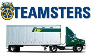 image: US YRC ABF Freight system road haulage Teamsters union