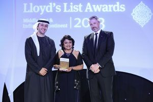 image: Middle East and Indian Subcontinent logistics freight awards container shipping