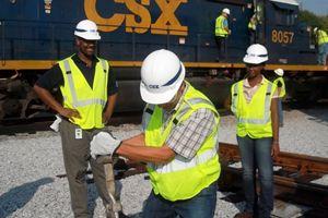 image: US rail freight logistics CSX BNSF G.I. jobs