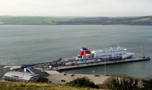 image: Scotland Belfast Stena RoRo freight ferry superfast